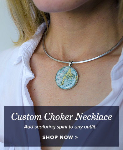 Custom Choker Necklace - you choose the location