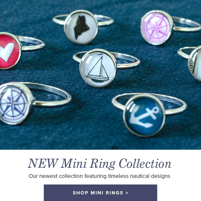New Nautical Mini Ring Collection - Shop Now