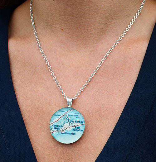 Map Jewelry Customized To Any Location in the World