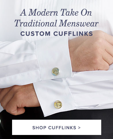 Custom Cufflinks - Custom Menswear