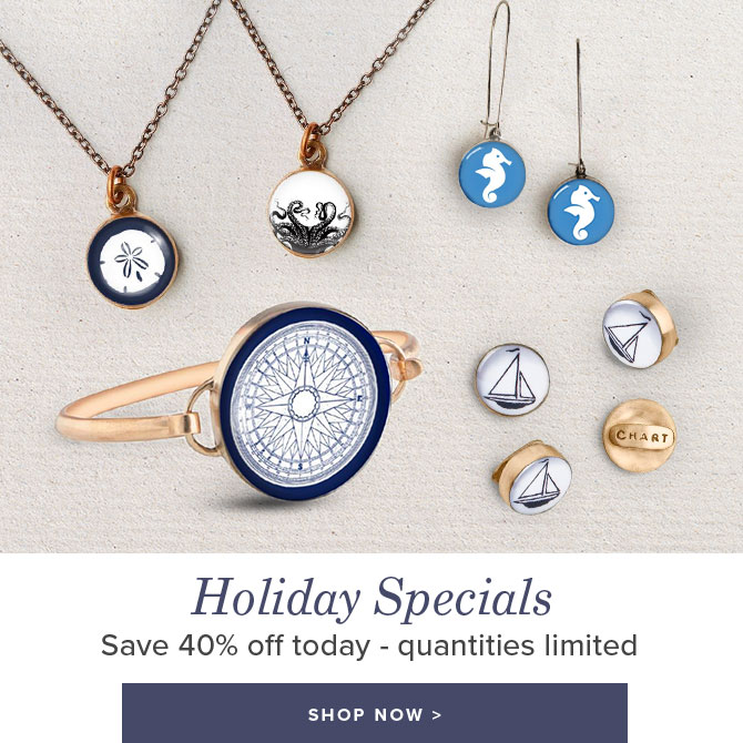 Holiday Specials Changing Daily - Up to 40% Off