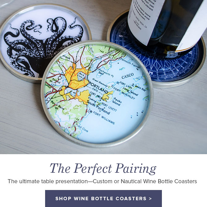 The Perfect Pairing - Shop Wine Bottle Coasters