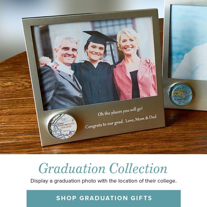 Perfect Graduation Gifts - Personalized Custom Picture Frames