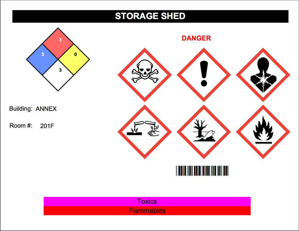 Color-Code Labeling with EMS