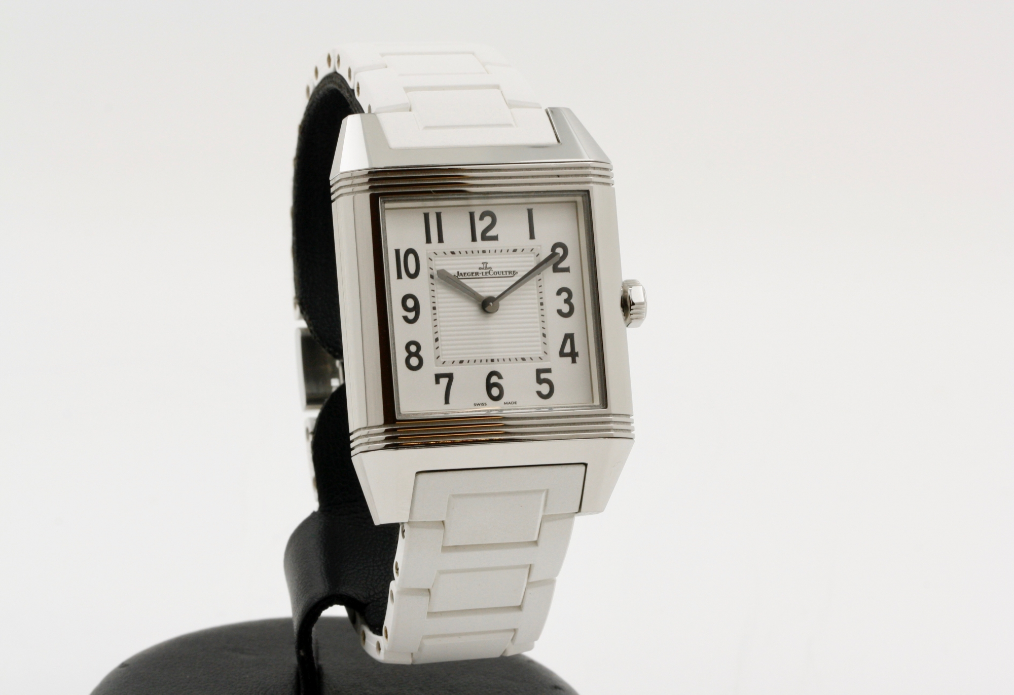 Jaeger-lecoultre Reverso squadra lady - FULL SET 2019 Q7068720 - Very good conditions /Steel 236.8.47 2019