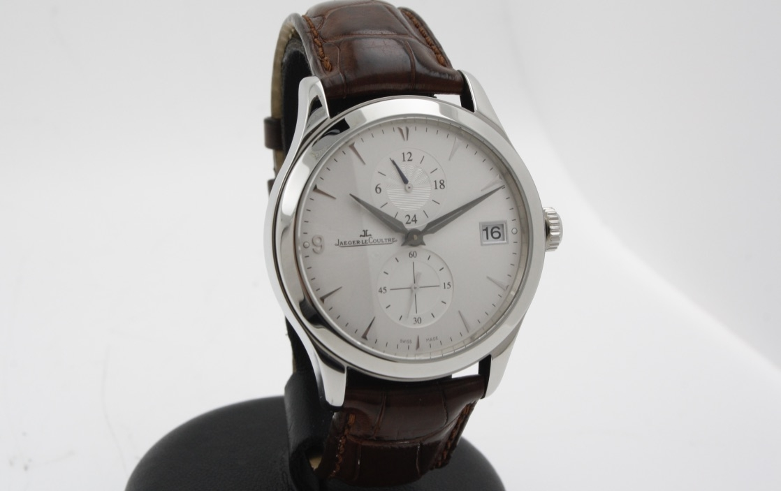 Jaeger-lecoultre Master Home Time 174.8.05.S 40MM Automatic Box Like New Q1628430 / 174.8.05.S