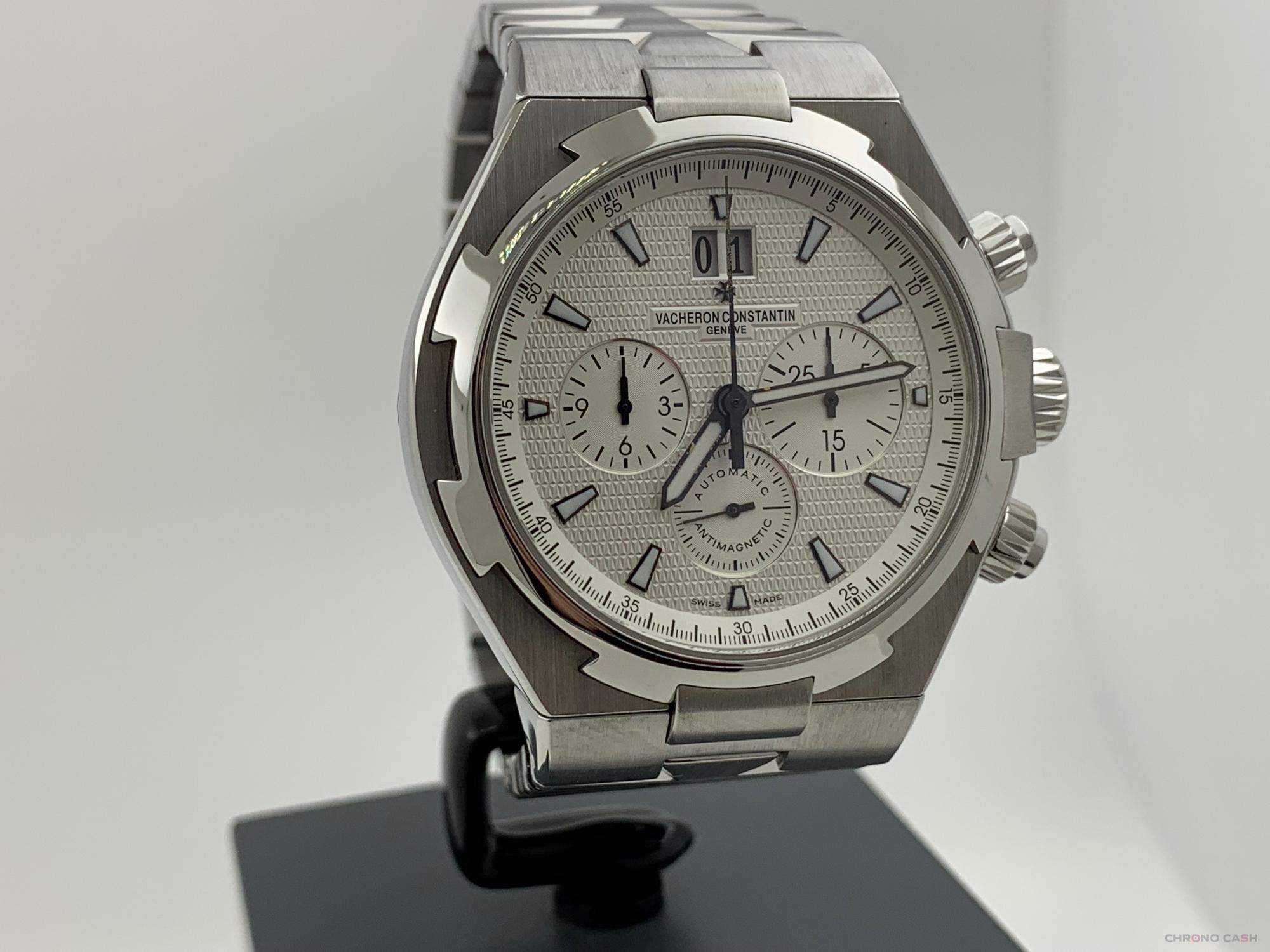 Vacheron Constantin Overseas Chronograph 42MM Automatic White Dial Like New 49150 2005