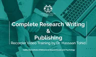 Complete Research Writing and Publishing Recorded Video Training