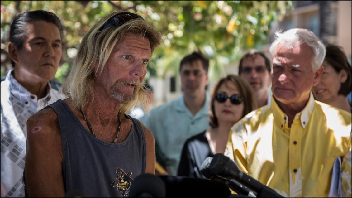 LEADCROP Mayor Caldwell Waikiki Scott Charles Fox Vietnam vet Housing First