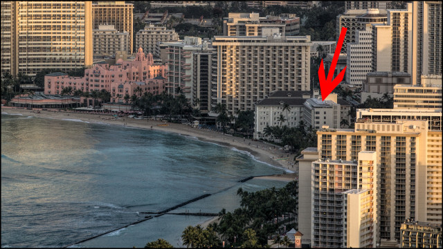 Waikiki skyline from Diamond Head. 3.3.14 Bentley/Civil Beat