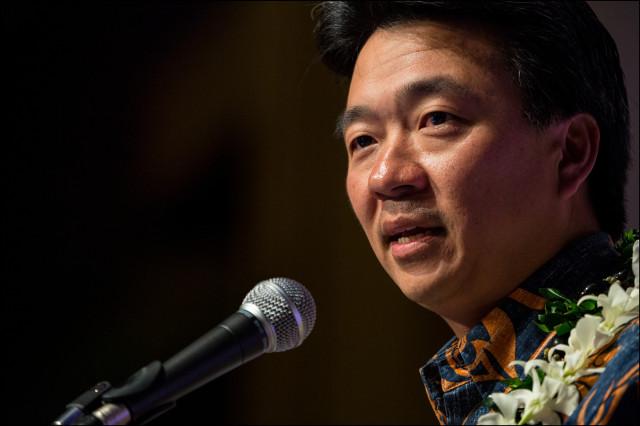 Lt. Gov. Shan Tsutsui Democratic Party of Hawaii ConventionSheraton Waikiki Honolulu