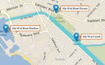 MAP: Ala Wai Canal — Location And Landmarks