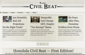 Civil Beat Four Years Later: We're Getting a Facelift and New Faces