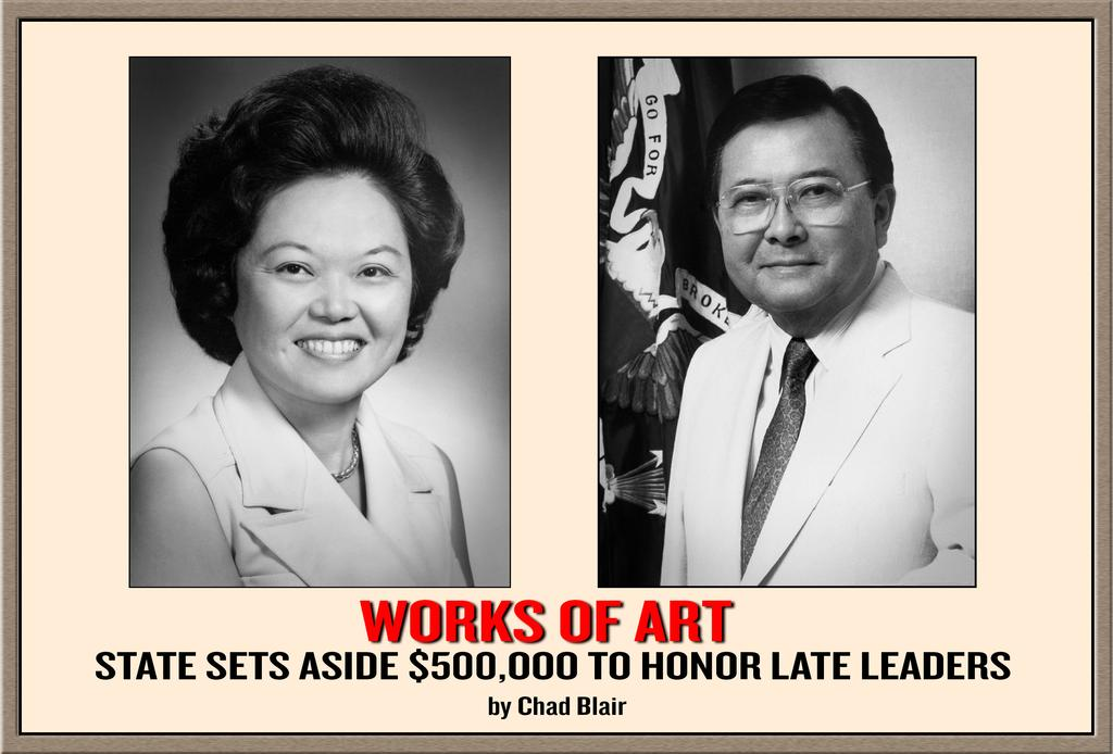 Lawmakers Budget $500,000 to Honor Dan Inouye and Patsy Mink
