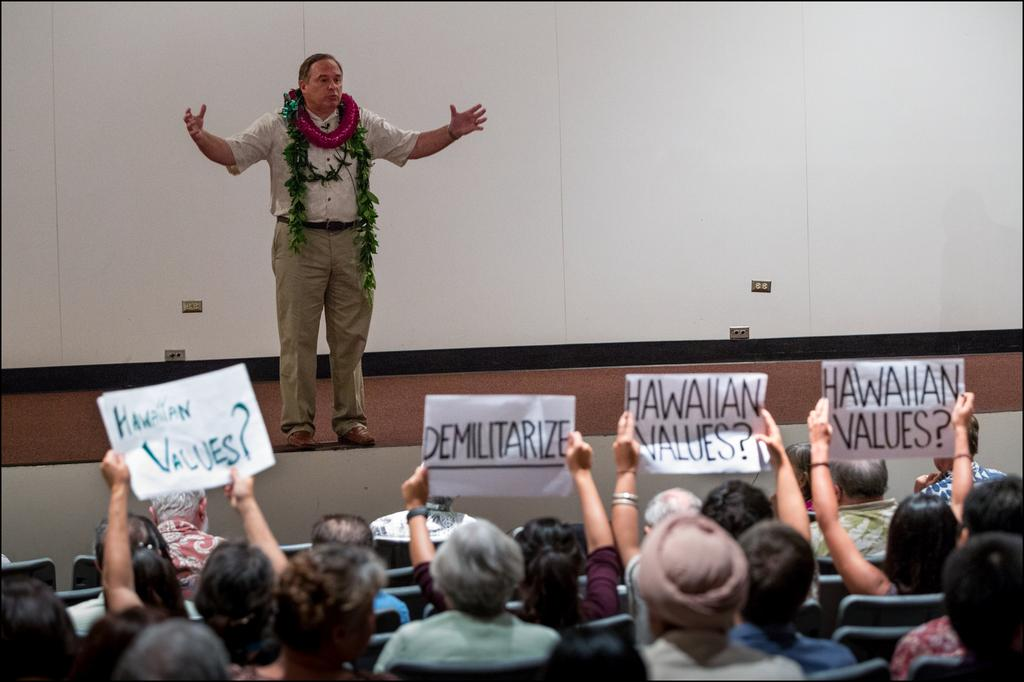 The Right Stuff? Retired General Vies for University of Hawaii Presidency