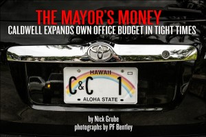 The Mayor's Money: Caldwell Expands Office Budget in Tight Times
