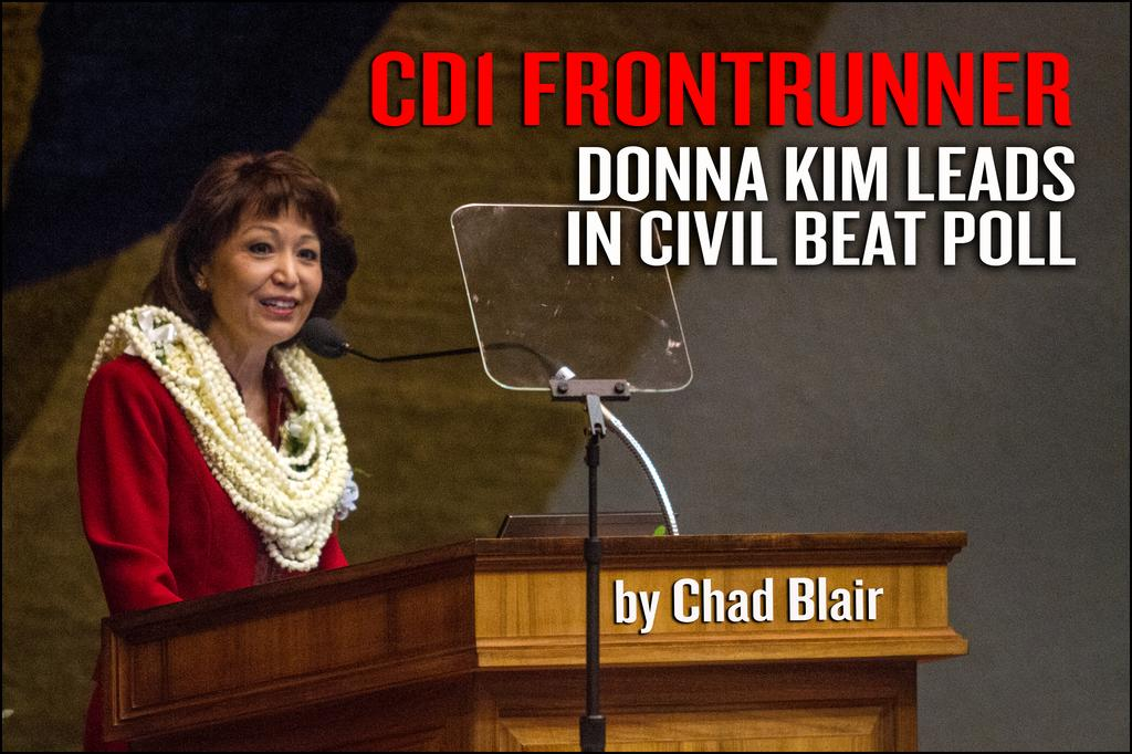 Civil Beat Poll — Donna Kim Leads Hawaii Race for 1st Congressional Seat