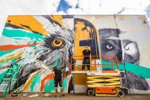 Hawaii's Instaweek: Pow! Wow! Hawaii Brings 'Creative Destruction' to Kakaako