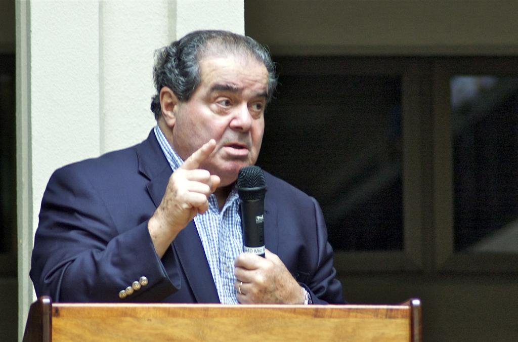 U.S. Supreme Court Justice Scalia's Surprising Advice for UH Law Students