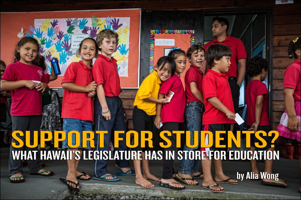 What Hawaii's Legislature Has in Store for Education
