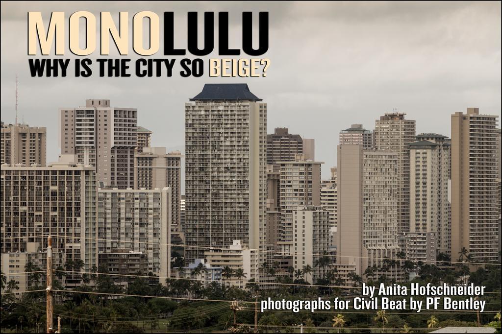 Urban Color Scheme: Why Is Honolulu So Beige?