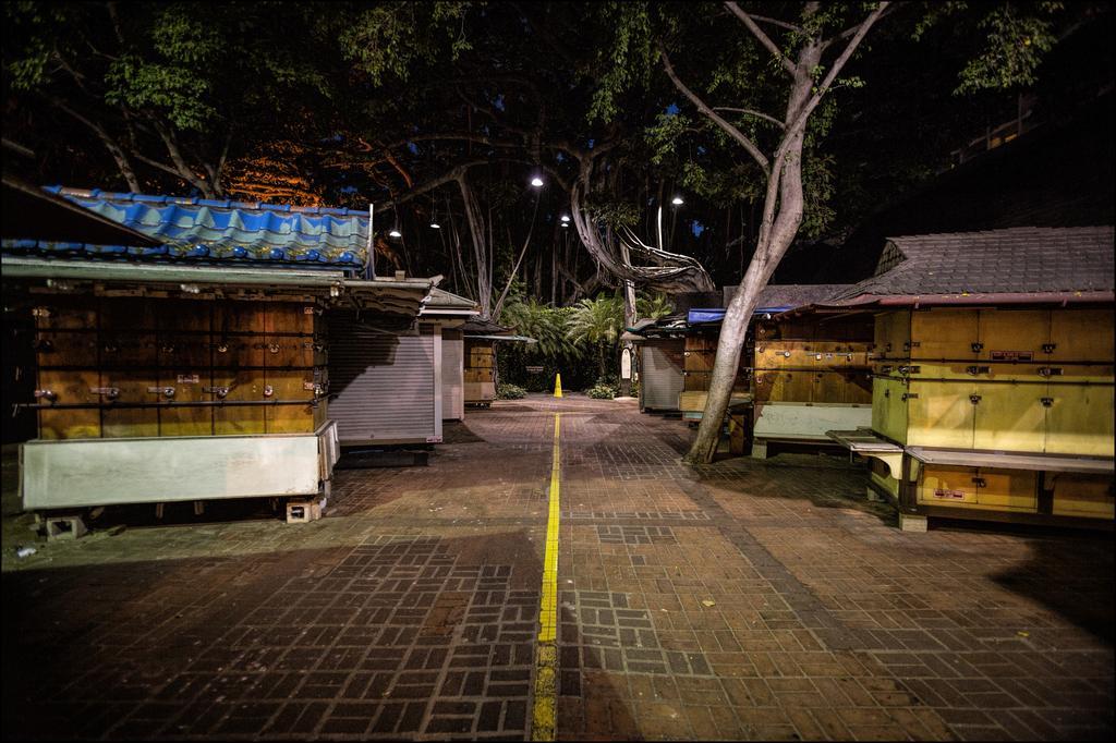 The End of Waikiki's International Market Place