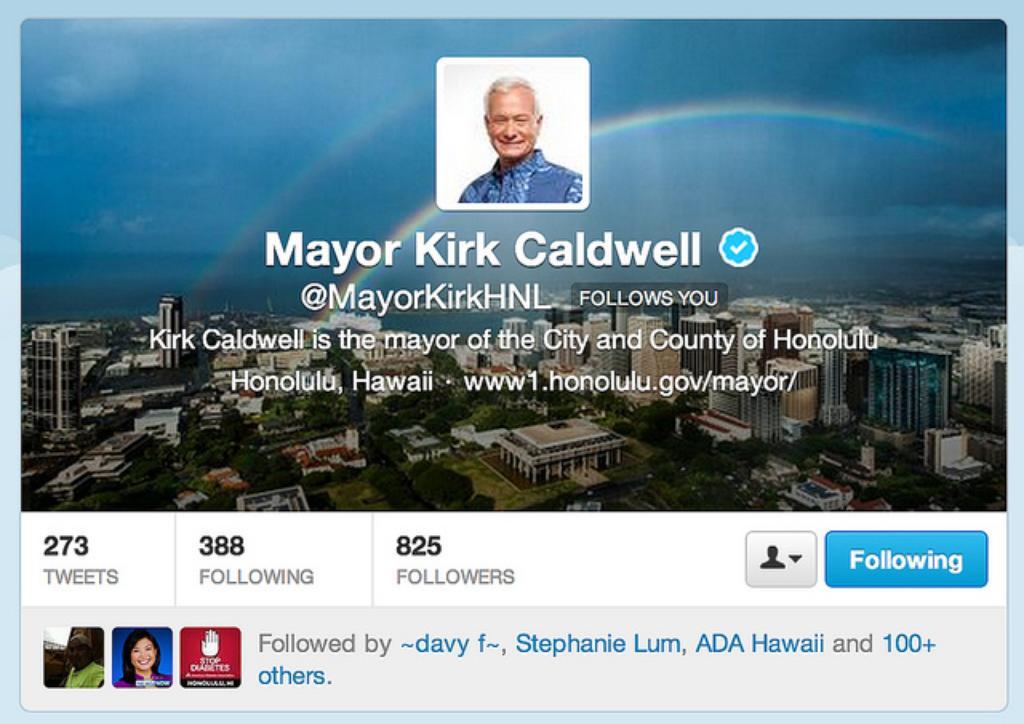 Gene Park: Kirk Caldwell's Big Twittersphere Splash