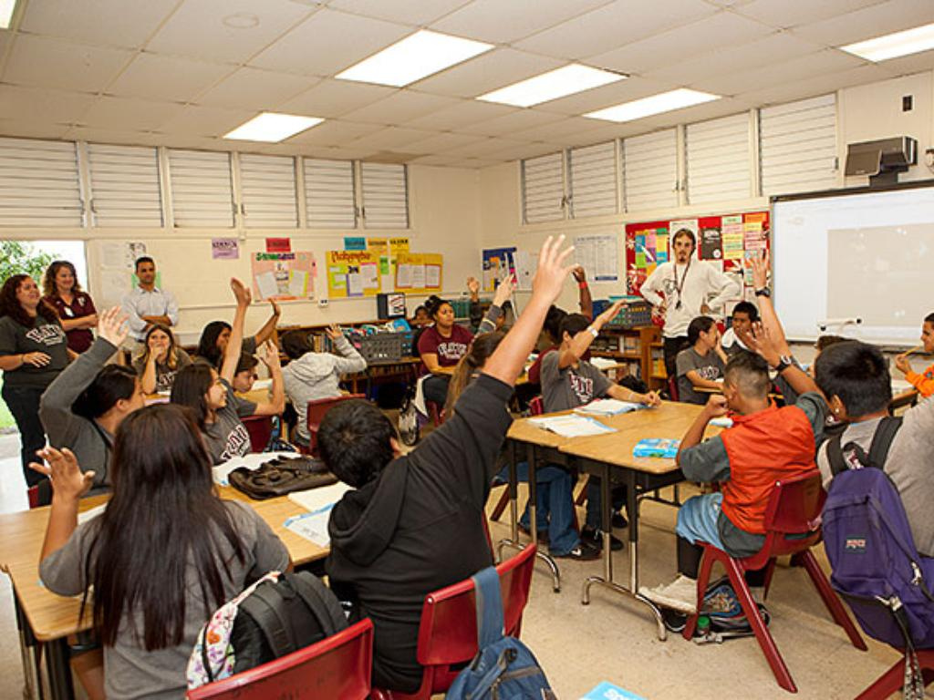 Hawaii Teacher: Promising Future Teachers Are Already In The Islands