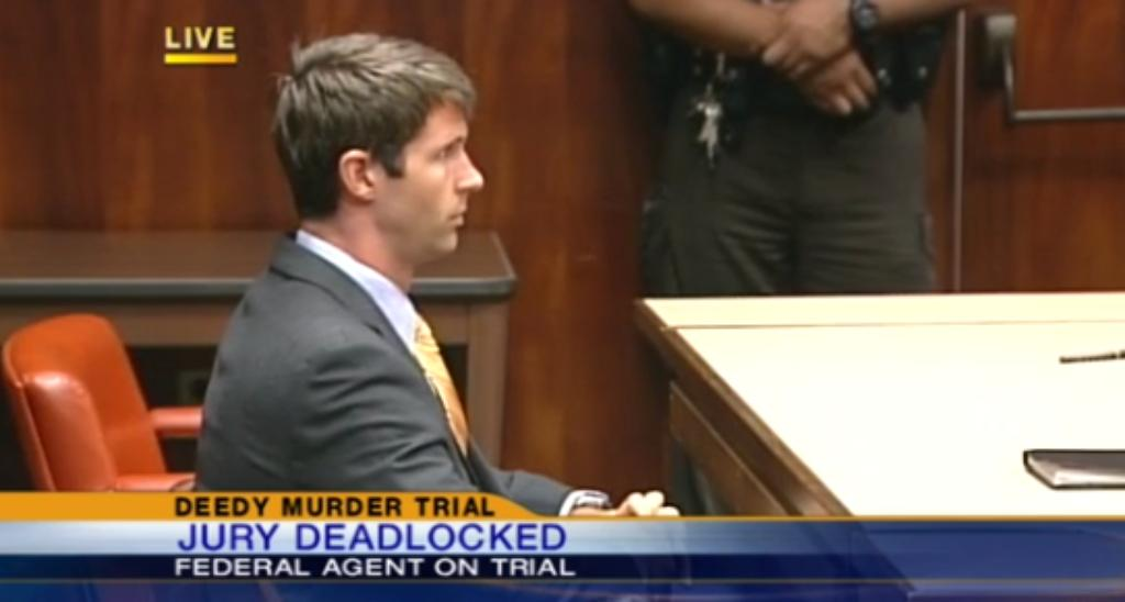 Deedy Trial: A Hung Jury Means Federal Agent Could Be Back In Court