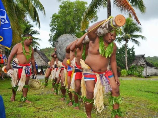 Yapese men.