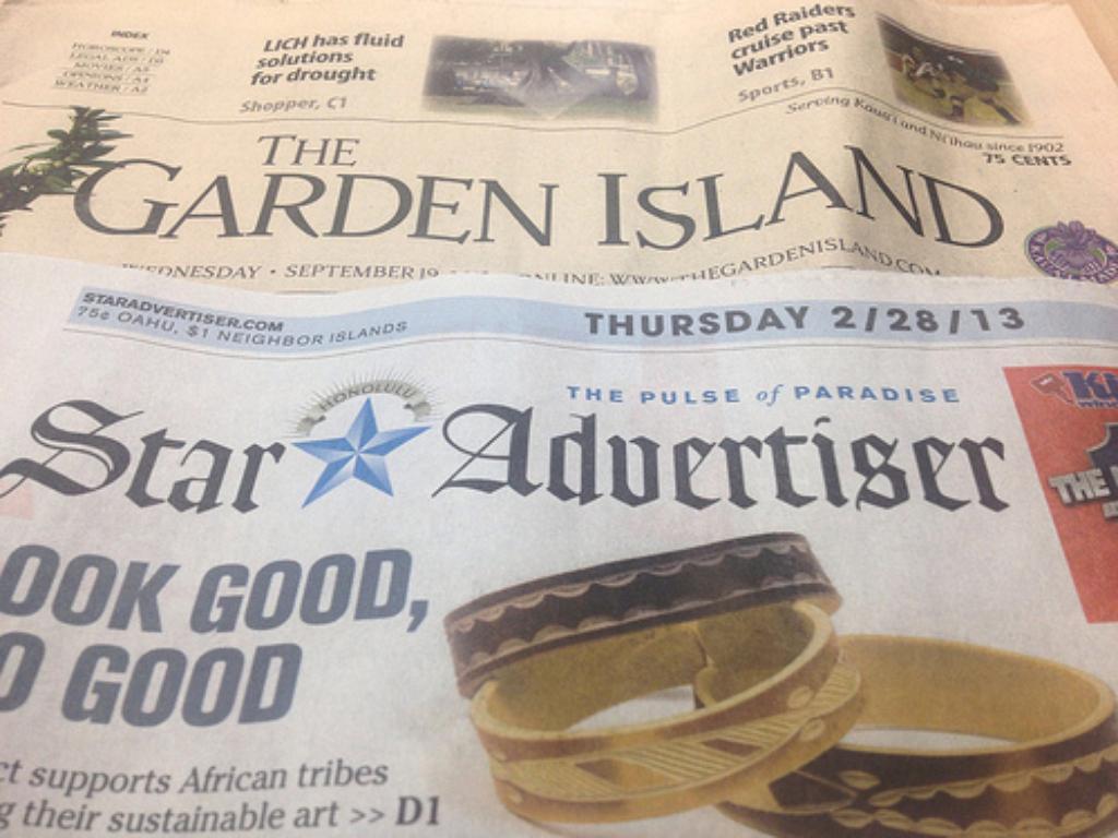 No Longer Kauai Made: Oahu Publications Grows Its Media Monopoly