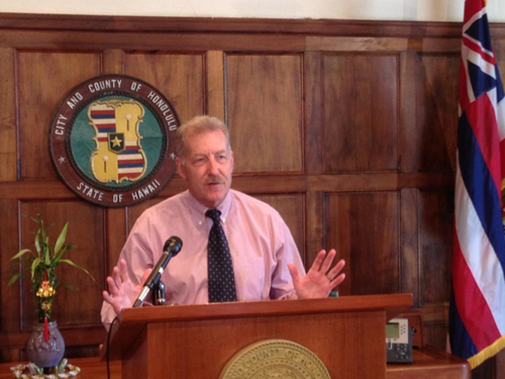 Court Ruling Keeps City Rail Project On Track, Honolulu Mayor Says