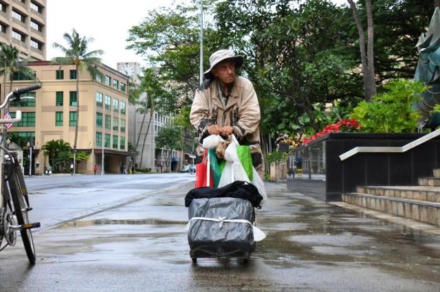Vladmir Berzansky homeless man