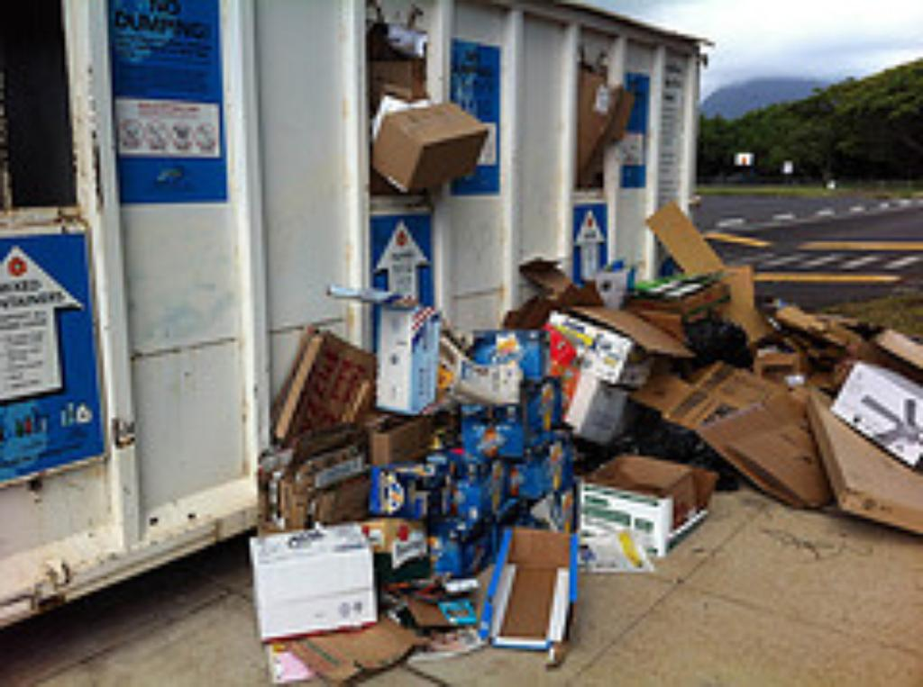 Hawaii Monitor: Demise Of Community Recycling Bins A Policy Failure