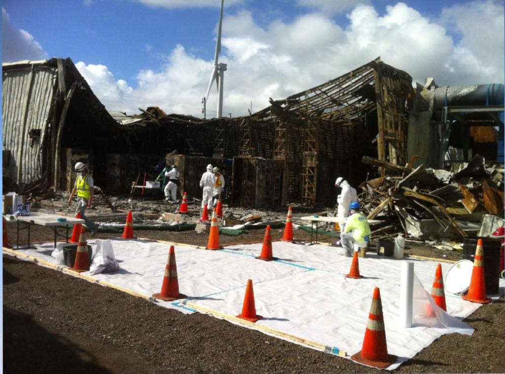 After Fire, Kahuku Wind Farm Fends Off Safety Concerns