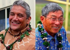 Hawaii County: Kenoi Narrowly Beats Kim In Mayor's Race