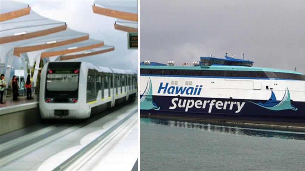 Surf and Turf: An Analogy Between Hawaii Superferry and Honolulu Rail