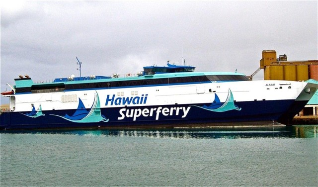 The company behind hte controversial Superferry went under in 2009.