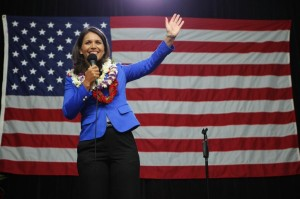 After Secret Trip, Gabbard Derided As 'Stooge,' Praised As 'Courageous'