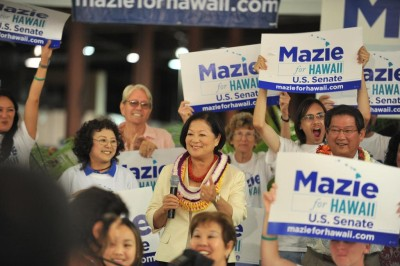 Hirono Has $1 Million On Hand For Likely Senate Re-election Bid