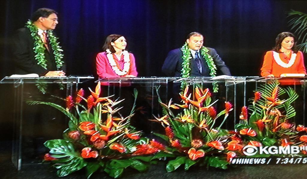 Social Issues Center In First Televised Hawaii Congress Debate