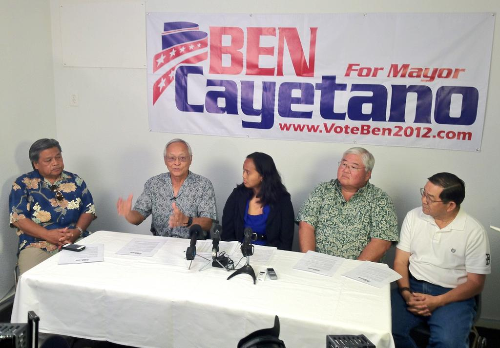 Former Campaign Chief In Town To Back Cayetano