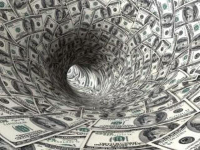 Tunnel of money