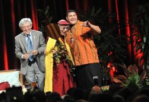 Dalai Lama's 'Rad' Visit to Kailua High School