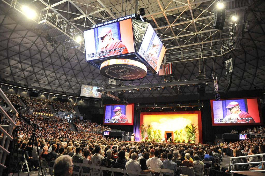Dalai Lama Speaks to Hawaii Public