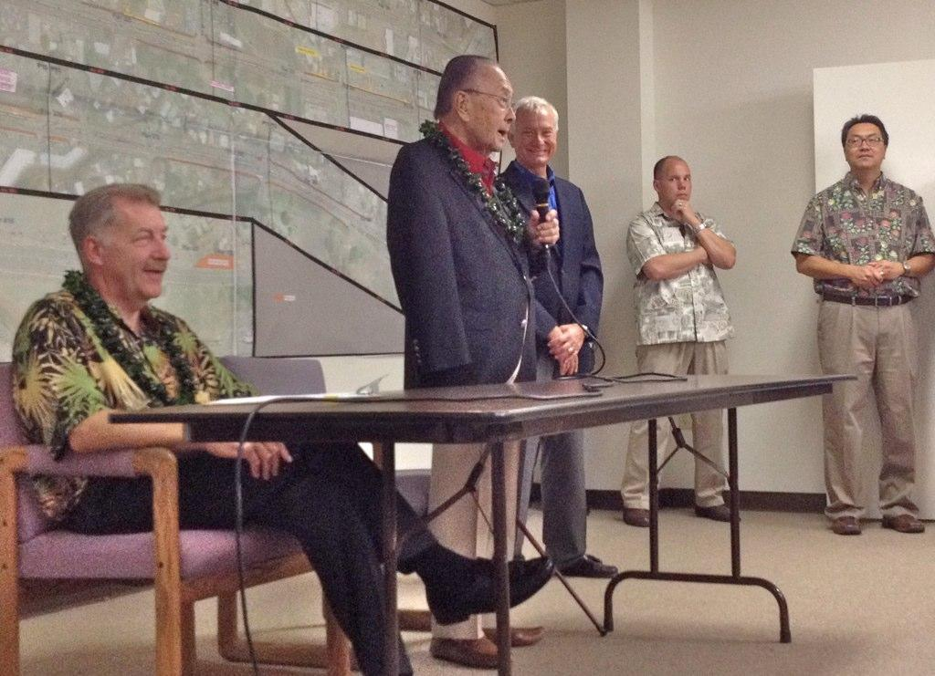 Inouye: The Only Thing That Will Stop Rail is World War III