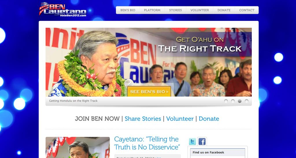 Hawaii Super PACs Gear Up To Support Cayetano