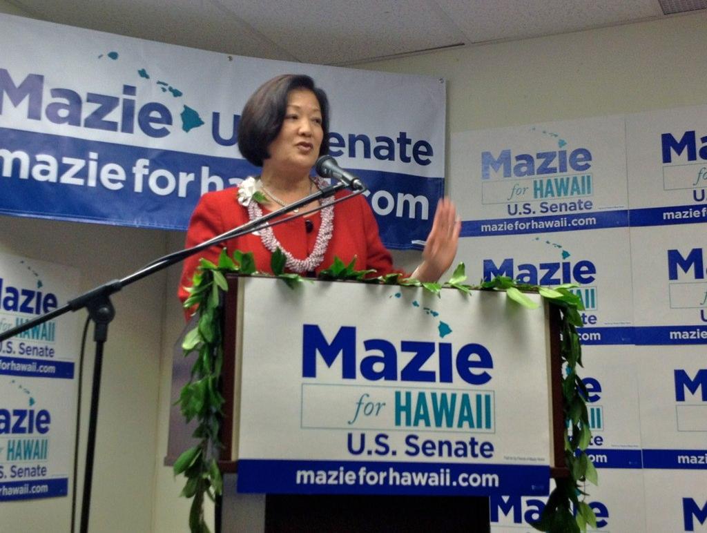 Hirono's Pineapple PAC Seeks To Help Dems Retake The US Senate