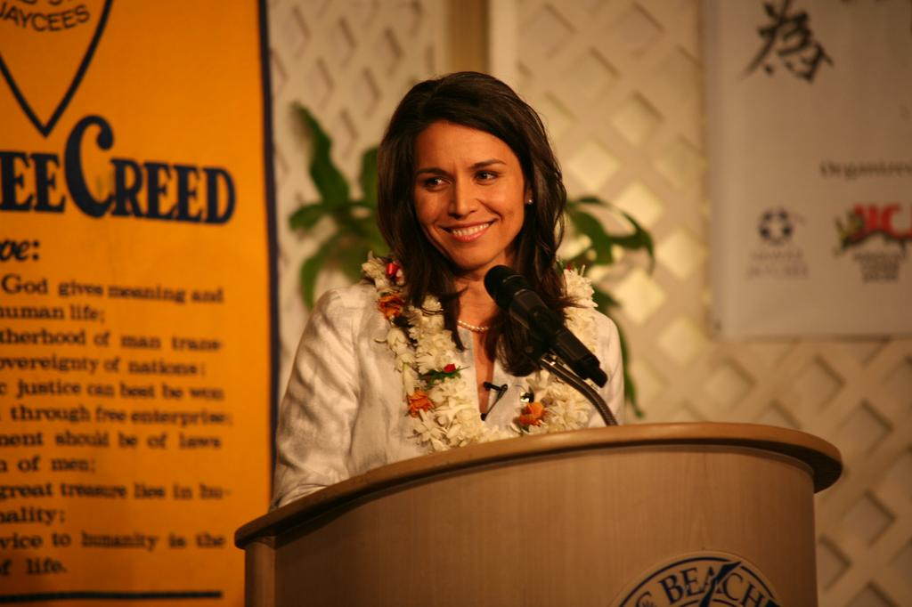 Gabbard Calls for Mandatory GMO Labeling, Solicits Campaign Funds