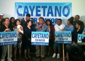 Civil Beat Poll – Cayetano Tops 50% In Honolulu Mayor's Race